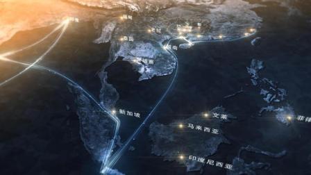 罡渡晨星AE制作空间地图教程-2