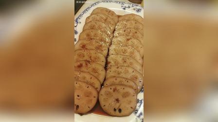 红糖桂花糯米藕做法