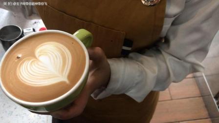 咖啡拉花基本功——咖啡拉花爱心️