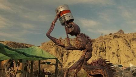 一只成精的蚂蚁, 身高5米, 不仅爱吃人, 而且还很喜欢喝啤酒!