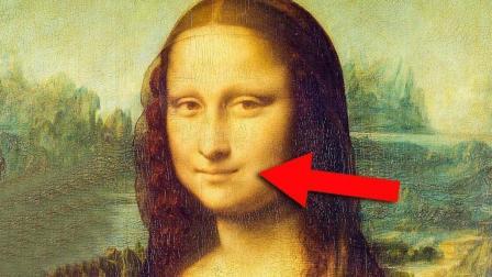 蒙娜丽莎微笑很神秘这不是在笑而是有病