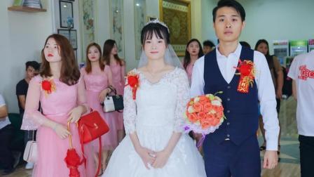 2018年张维东, 戴茹结婚录像