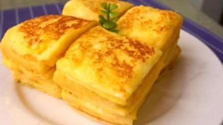 教你做经典西多士, 口感介于蛋糕与面包之间, 软而不湿, 香而不柴