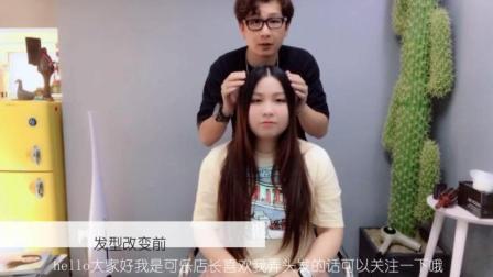圆脸女生适合的瘦脸发型 发型师说 发型剪对了 大圆脸也变小脸