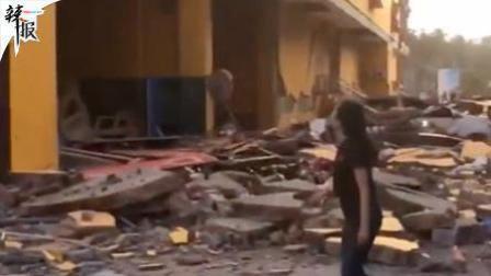 印尼灾难局: 强震引发海啸 已致384人死亡