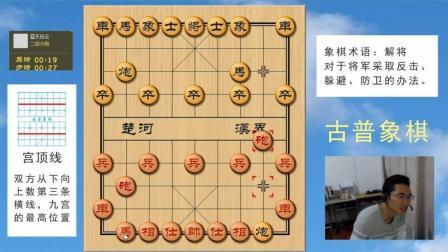 中国象棋实战: 双滑车系列, 铁门栓三重无双