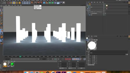 《光影动画第16期》原来这才是c4d合成可视化音频最简单的方法