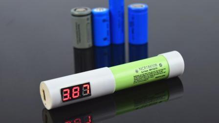 自制18650锂电池充电器 DIY显示电压USB磁吸充电座