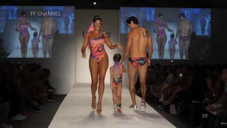 Lila Nikole 2018 哥伦比亚春夏时装秀, 第一次见这样有设计感的走秀!
