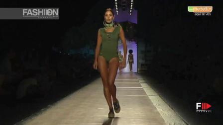 AGUA BENDITA 2018 伦敦春夏时装秀, 模特玩转时尚, 美得不像话!