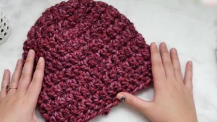 「时尚针织」初学者也能学会的帽子简单织法