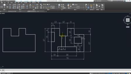 CAD2018入门: 标注事宜以及标注实例