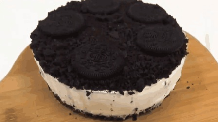 「烘焙教程」免烤奧利奧芝士蛋糕, 零基础的你也可以轻松学会