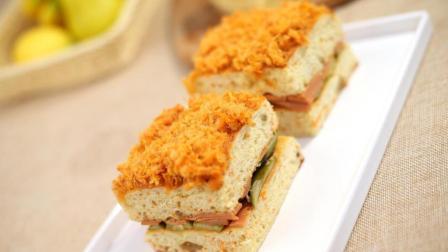 孩子早餐吃什么? 不如学做美式胡萝卜肉松面包吧, 营养健康又好吃!