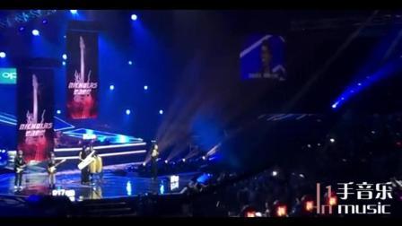 谢霆锋带《好声音》学员出席澳门音乐会, 合唱《光辉岁月》致敬黄家驹