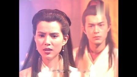 杨过和小龙女合练玉女心经,两人同时练剑的时候真是唯美