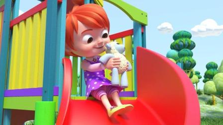 好看好听好玩的英语儿歌  小宝宝喜欢自己的布娃娃  时时刻刻带身边