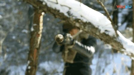 战地枪王: 李健上演雪地英雄救美, 枪法功夫卓绝