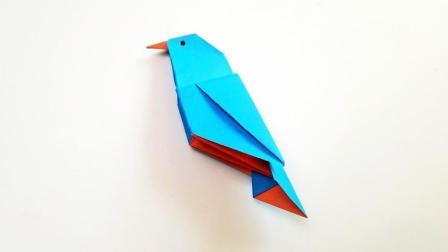 折纸王子折纸小小鸟, 小朋友很喜欢的手工