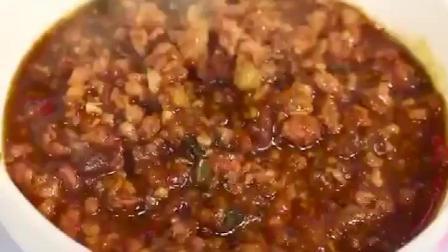 肉沫拌面酱制作方法