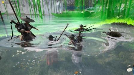 狙击手麦克: 当武侠乂的决赛圈刷在水中, 你知道有多么欢乐么?