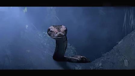 盗墓团伙惊动山洞中的巨蟒, 落单小伙直接被缠绕窒息!