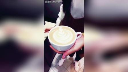 一杯拿铁, 满满的爱! 享受每一杯咖啡制作的过程