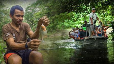 """我要去旅行 第三季 游弋亚马逊热带雨林 垂钓不食人的""""食人鱼"""""""
