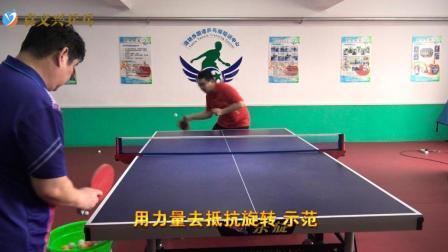 乒乓球如何利用力量来抵抗旋转? 在比赛时要注意哪些事项?