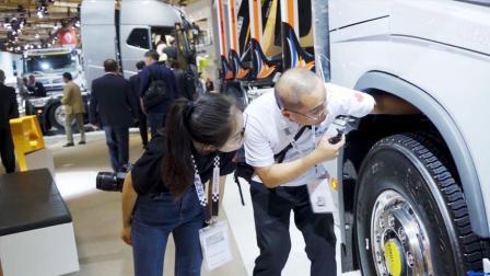 2018汉诺威车展: 这台沃尔沃FH卡车身上带有N多惊喜