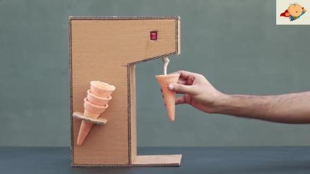 超强手工帝牛人教你如何在家制作冰淇淋机! 看完好好学你也能做!