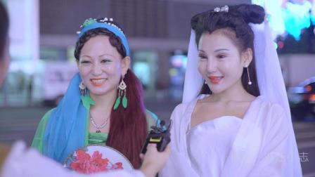 白蛇青蛇现身杭州街头寻找许仙