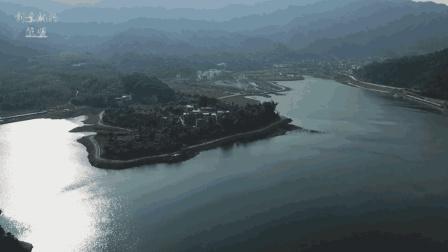 航拍黄姚古镇仙女湖, 来广西旅游千万不要错过这样的好地方!