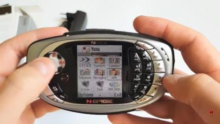 「经典手机」之游戏手机的鼻祖, 诺基亚 N-Gage QD!