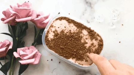 """用泥土代替巧克力粉, 无硼砂自制""""泥冰山"""", 过程好玩又减压"""