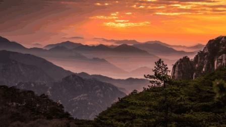 黄山日出日落时的绝美云海, 终于明白为什么黄山归来不看岳了