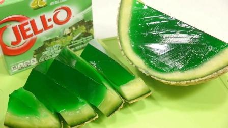 绿色的哈密瓜瓤你见过吗? 最后切那一刀, 实在是太舒服了!
