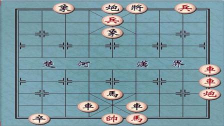 江湖象棋残局: 兵临城下, 高手第一步就无从下手, 太难了!