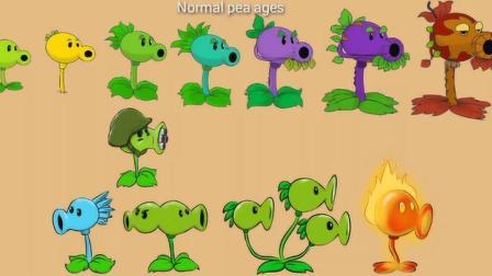 植物大战小僵动画: 无敌的豌豆射手进化史