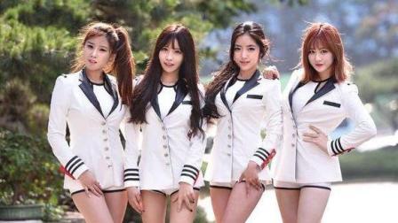 韩女团Pocket Girls热力开舞! 依旧满屏大长腿