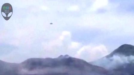 奇闻异事: 全球不明飞行物目击事件之飞碟UFO在火山口