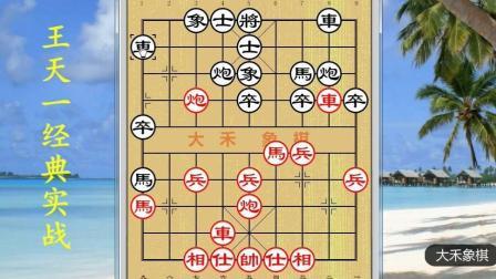 大禾象棋讲解: 王天一经典实战欣赏
