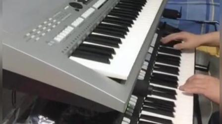 电子琴演奏《学生演奏-爱情一阵风》