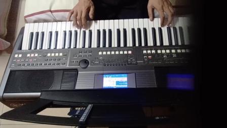 电子琴演奏《阿明学生演奏小小新娘花》