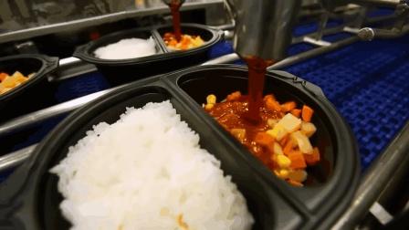 全自动速食米饭生产线, 全程看不到一个工人, 你敢吃吗?