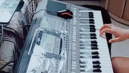 电子琴演奏《学生演奏梅花三弄》