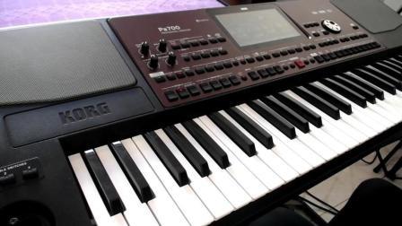 电子琴演奏《学生演奏梦里水乡》