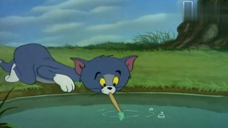 猫和老鼠: 汤姆捉老鼠变成大头猫, 喝鸭汤被杰瑞一砖撂倒