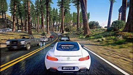 【GTA5】►gta6画质GeForce RTX™2080Ti 4k下的60fps现实生活画面! [侠盗猎车手5 PCMOD]