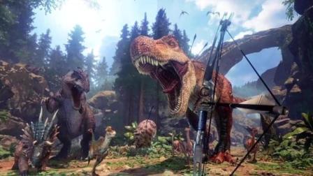《侏罗纪世界2》最壮观片段! 女主都看呆了!